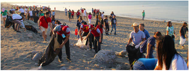 DENR,Dagupan LGU spearhead Tondaligan beach cleanup